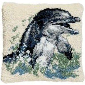 Pako Smyrna knoopkussen dolfijn 013 304