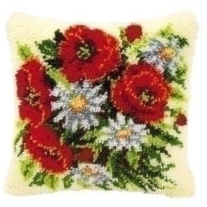 Vervaco Smyrna knoopkussen bloemen 0014142