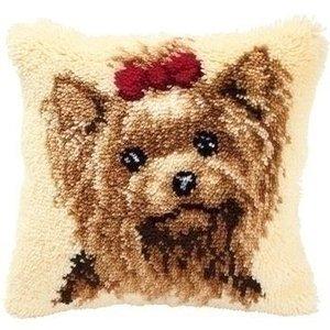 Vervaco Smyrna knoopkussen hond 0014144