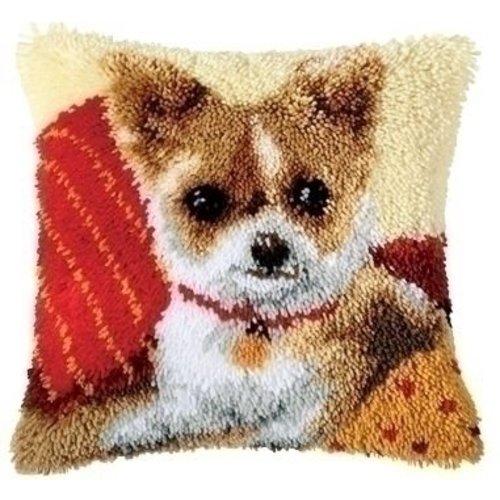 Vervaco Smyrna knoopkussen hondje 0014183