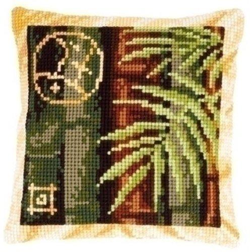 Vervaco Borduurkussen Bamboe 0148437
