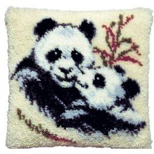 Pako Smyrna knoopkussen Panda 013 075