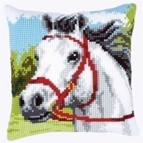 Vervaco Kruissteekkussen paard 0144434