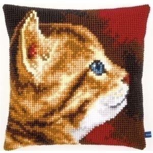 Vervaco Vervaco borduurkussen Kitten I 0154895