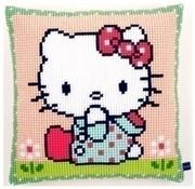 Vervaco Kussen Hello Kitty Op het grasveld 0155210