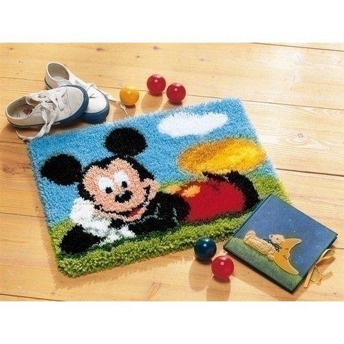Vervaco Vervaco smyrna knoopkleed Mickey Mouse 0014720