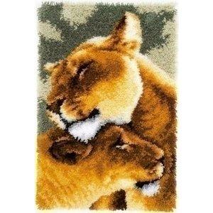 Vervaco Smyrna Knoopkleed Leeuwinnen liefde III 0150913