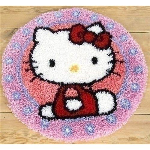 Vervaco Vervaco smyrma knooptapijt Hello Kitty 0147570