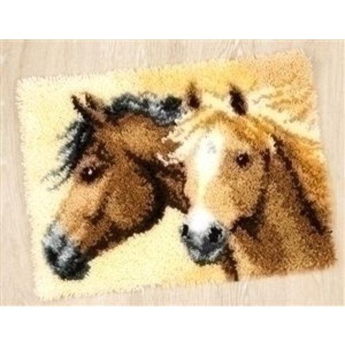 Vervaco Vervaco knooptapijt paarden PN 0144834