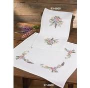 Permin Permin borduurpakket Tafelloper Flowers 63-6800