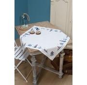 Vervaco Vervaco tafelkleed borduurpakket Maritiem 0147141