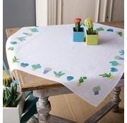 Vervaco Vervaco tafelkleed borduurpakket Cactussen 0155956