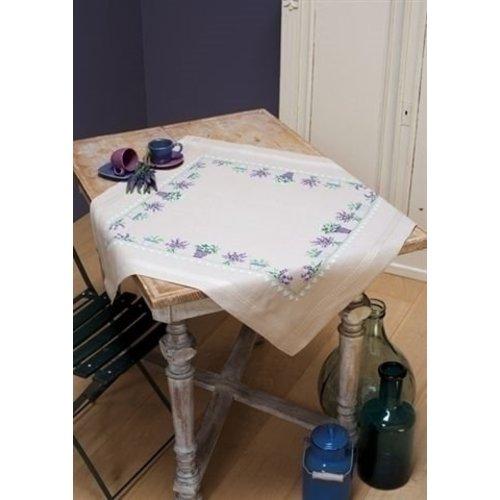 Vervaco Vervaco tafelkleed Lavendel 0165238