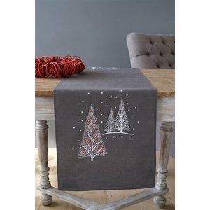 Vervaco Vervaco tafelloper Kerstbomen 0158415