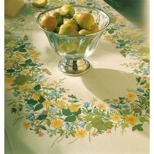 Eva Rosenstand Eva Rosenstand tafelkleed Summerflowers 12-4584