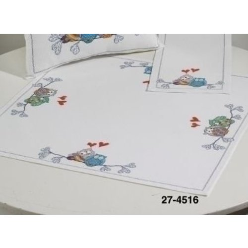Permin Permin tafelkleed uilen 27-4516