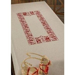 Permin Permin borduurpakket tafellaken Kerst 58-6224