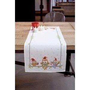 Vervaco Borduren tafelloper grappige uiltjes 0150868