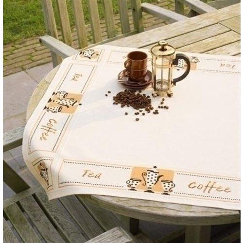 Vervaco Borduren tafelkleed thee en koffie 0021725
