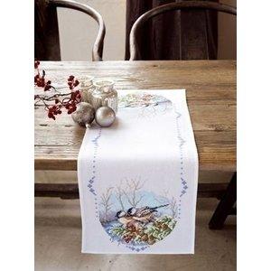 Vervaco Borduren tafelloper Kerst 0147606