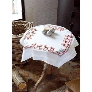 Vervaco Borduren tafelkleed Kerst 0147491