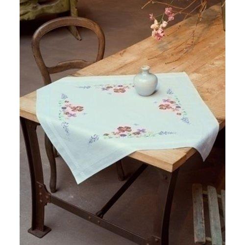 Vervaco Borduurpakket tafelkleed zomerbloemen 0149421