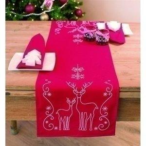 Vervaco Vervaco talfelloper Kerst herten 0145591