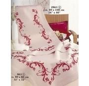 Vervaco Bedrukte tafelloper bloemenranken 0013128