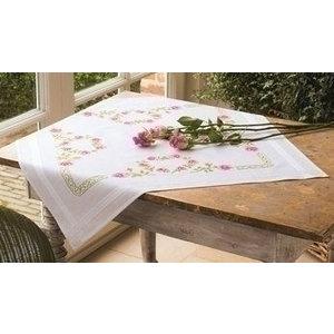 Vervaco Vervaco borduurpakket tafelkleed Rozen 0013210