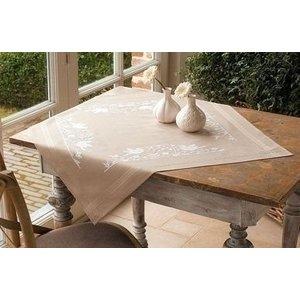 Vervaco Vervaco borduren tafelkleed Vogels 0013116