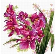 Needleart Needleart borduurpakket Lovely Orchids 640.070