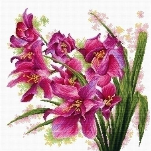 Needleart Needleart borduurpakket Lovely Orchids 640.070