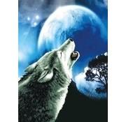 Needleart Needleart borduurpakket Howling Wolf 650.027