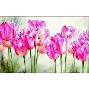 Needleart Needleart borduurpakket Pink Tulips 650.021