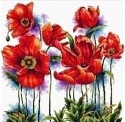 Needleart Needleart borduurpakket Lovely Poppies 640.069