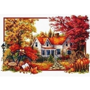 Needleart Needleart borduurpakket Autumn Comes 740.071