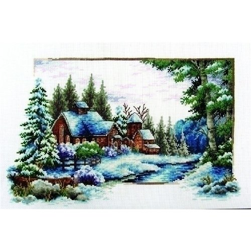 Needleart Voorbedrukt borduurpakket Winter Snow 540.044