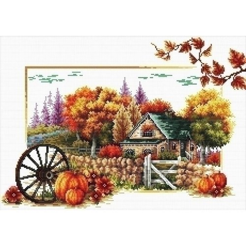 Needleart Needleart borduurpakket Autumn Fram 540.043