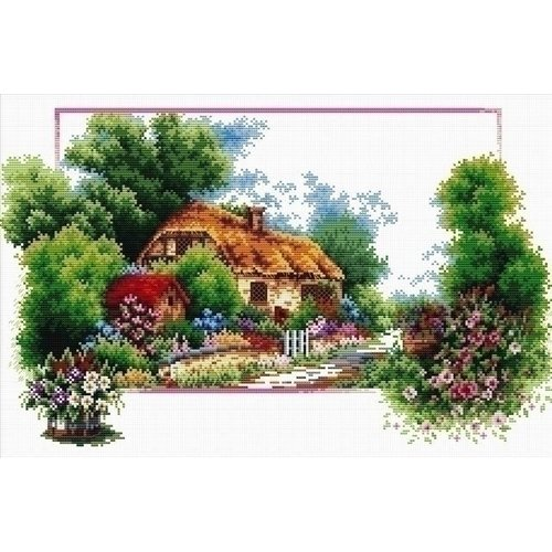 Needleart Neeldeart English Cottage Lane 440.041