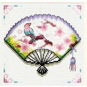Needleart Needleart Cherry Blossom Fan 140.029