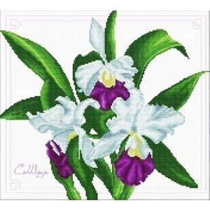 Needleart Needleart borduurpakket Bouquet of Orchids 340.009
