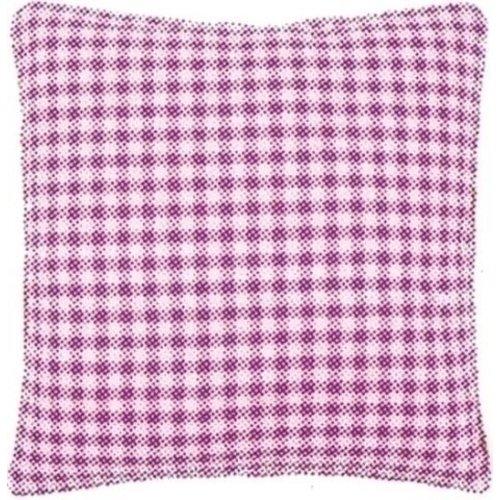 Vervaco Kussenrug met rits roze ruit 45 x 62 cm 0154660