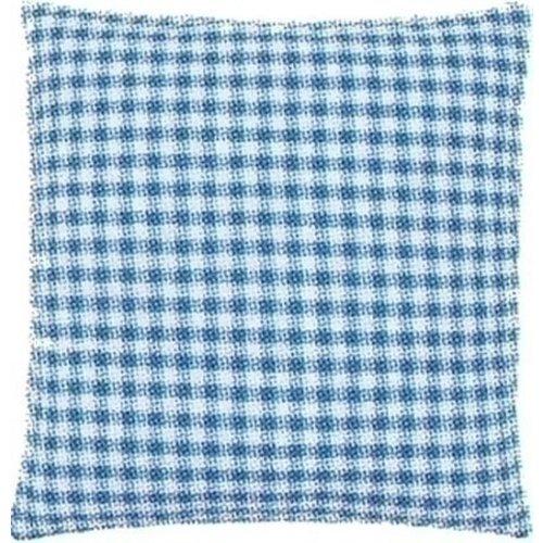 Vervaco Kussenrug met rits blauw 30 x 30 cm 0154663
