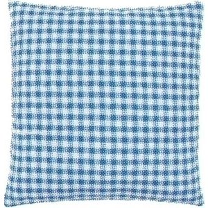Vervaco Kussenrug met rits blauw 45 x 45 cm 0154661