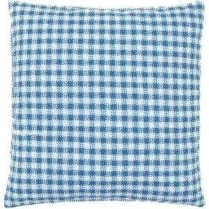 Vervaco Kussenrug met ritssluiting blauw 45x62 cm 0154659