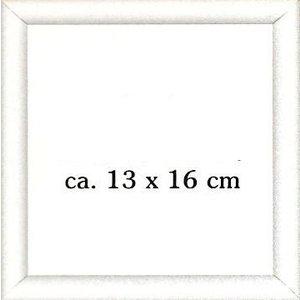 Vervaco Houten borduurlijst wit 13 x 16 cm 0009481