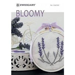 Zweigart Zweigart borduurboekje Bloomy 104 302