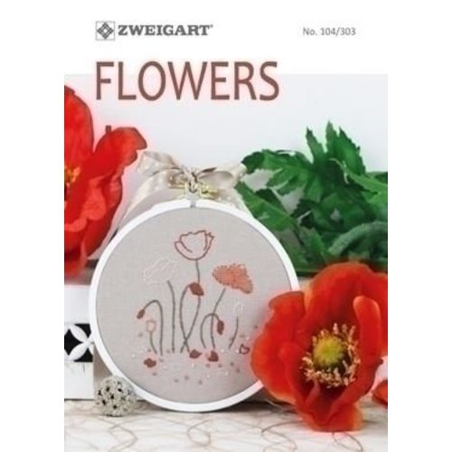 Zweigart Zweigart Borduurboekje Flowers 104 303
