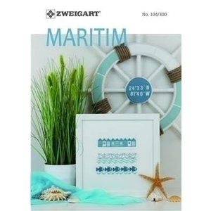 Zweigart Zweigart Patronenboekje Maritiem 104-300