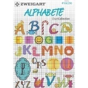 Zweigart Zweigart borduurboekje Alphabete 104-290